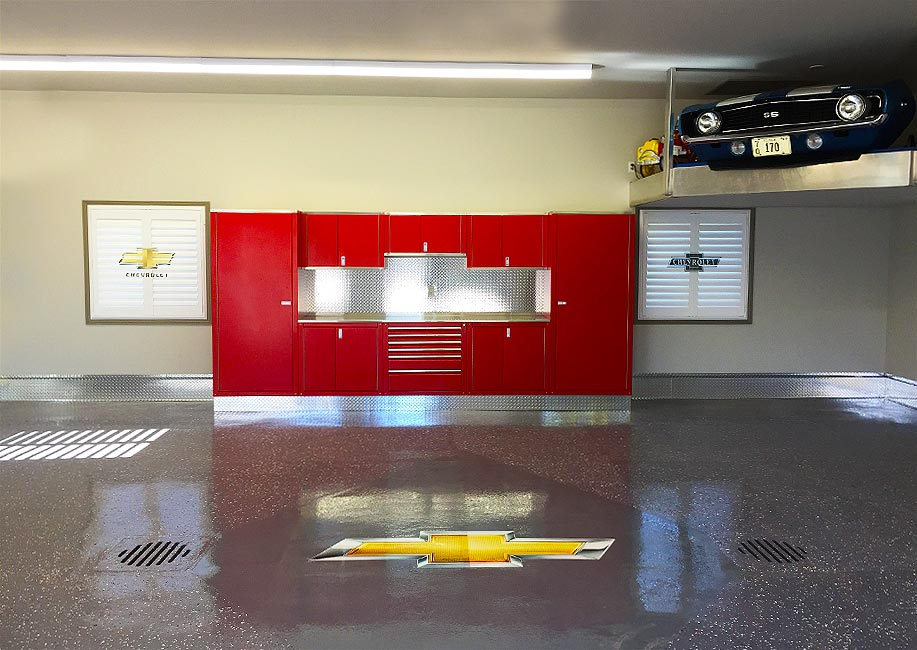 red-chevy-custom-garage-cabinets-01