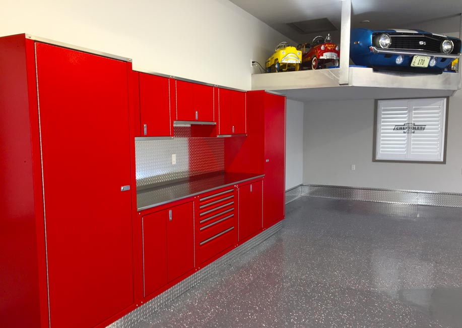 red-chevy-custom-garage-cabinets-02