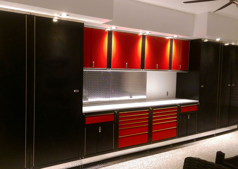 Luxury garage cabinets 3 Iconic Cabinets